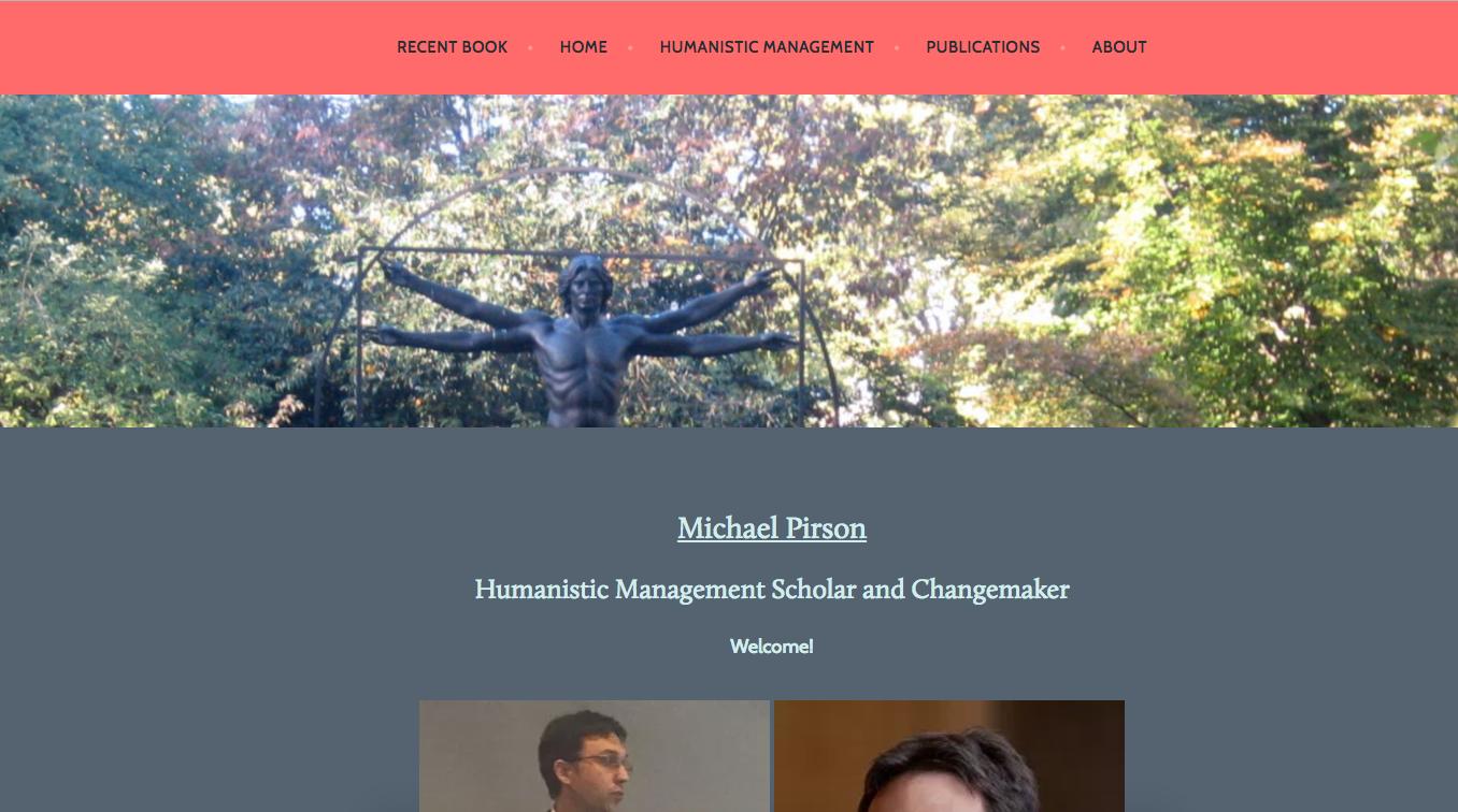 Web Development -- Michael Pirson